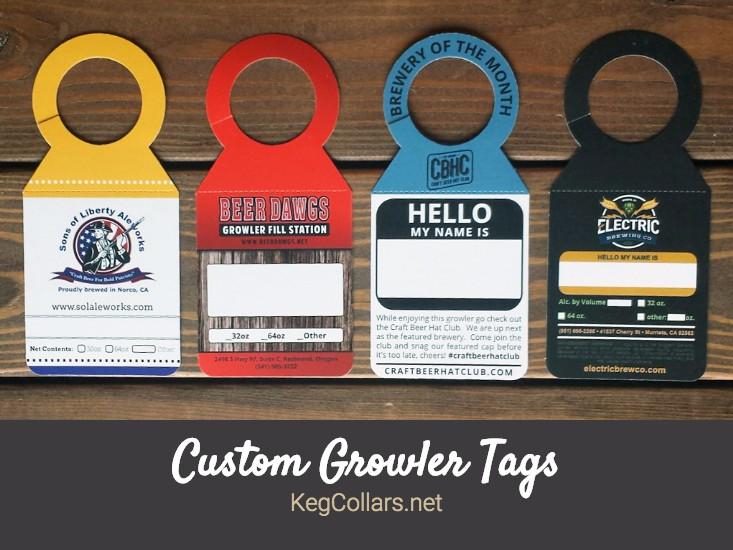 Custom Growler Tags