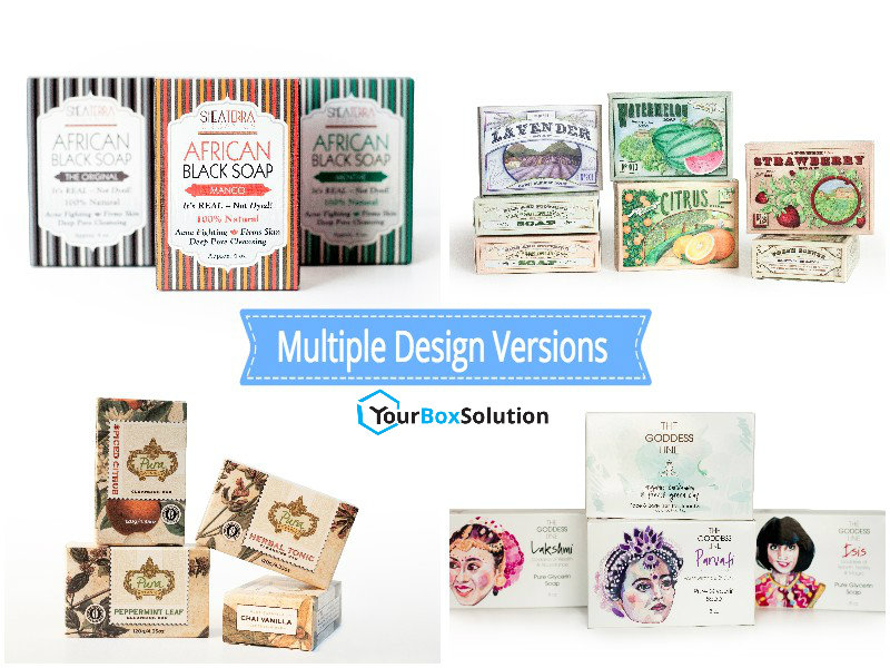 Multiple Designs for the Same Size Box