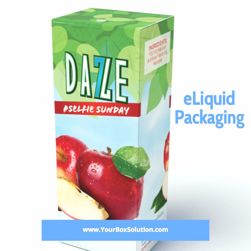 eLiquid Packaging and Boxes