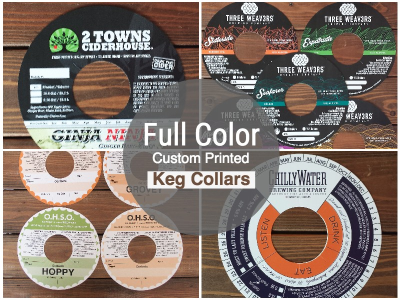 Custom Keg Collars
