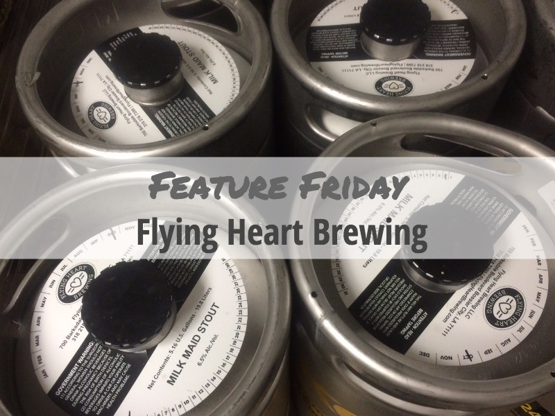 Flying Heart Brewing Keg Collars