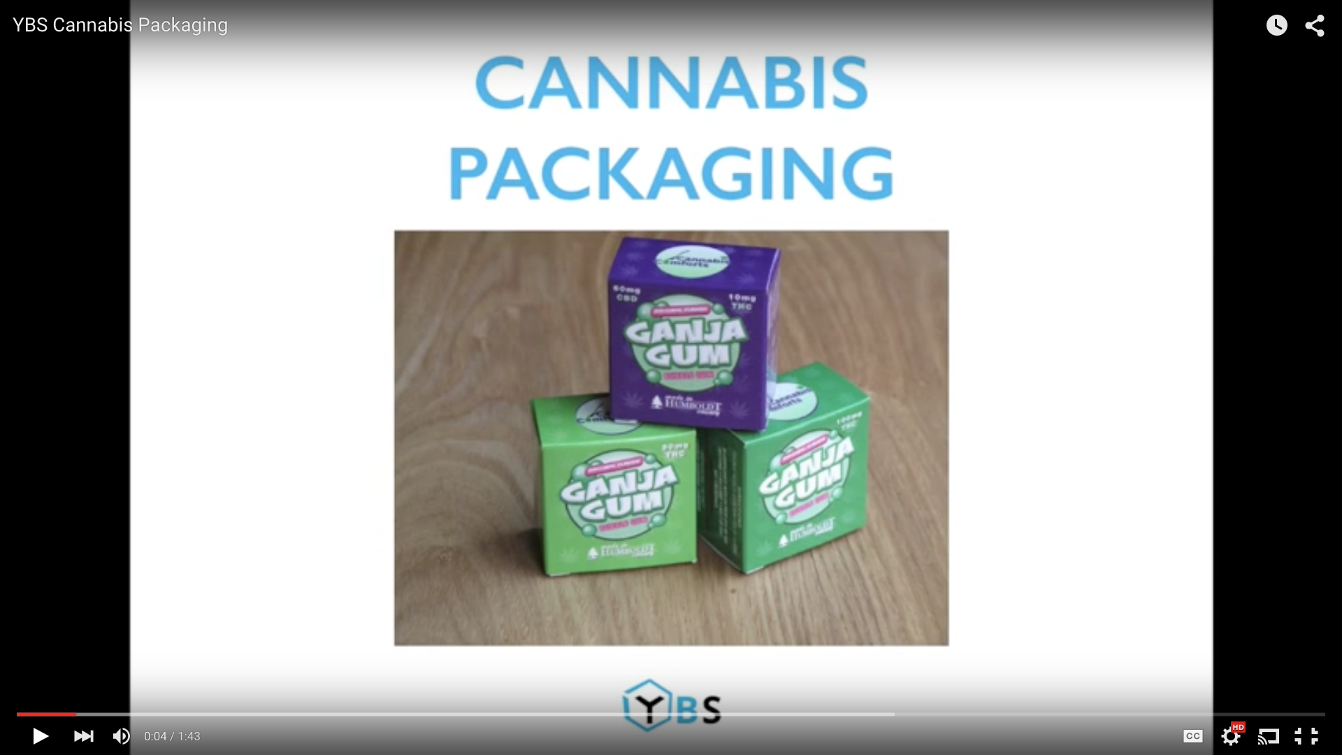 Cannabis Packaging from YourBoxSolution.com