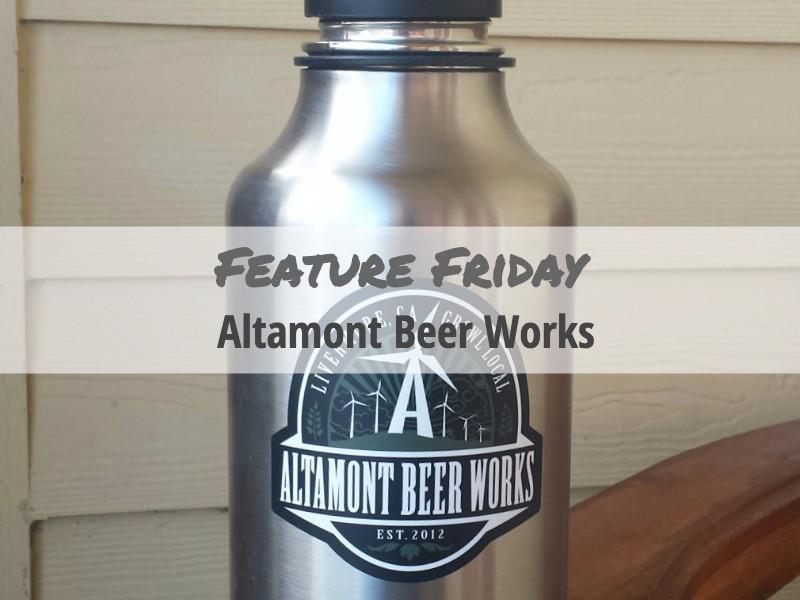 Altamont Beer Works Sticker