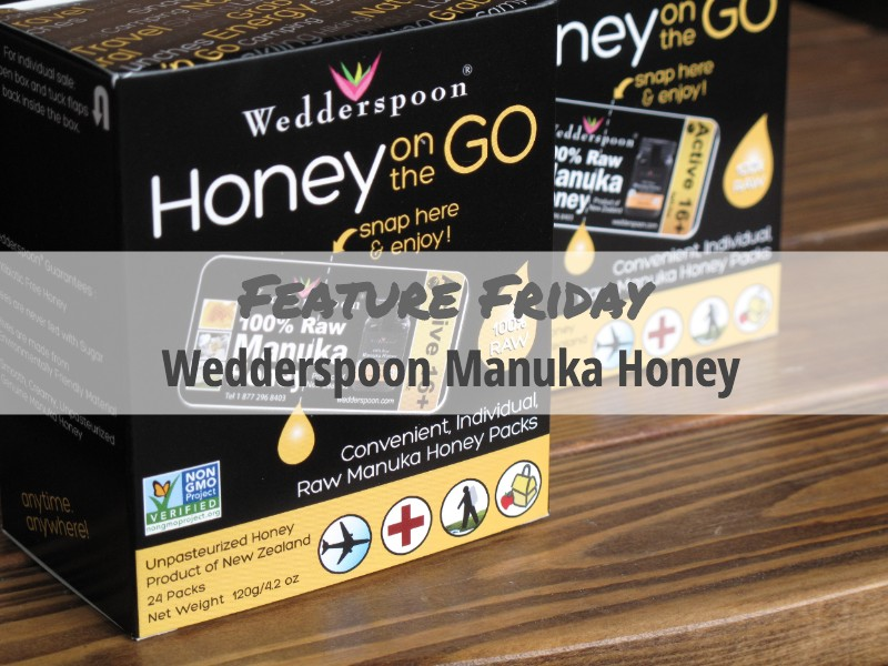 Feature Friday Wedderspoon Honey