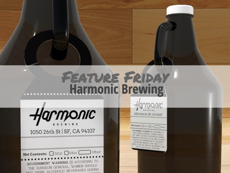Harmonic Brewing Growler Tag