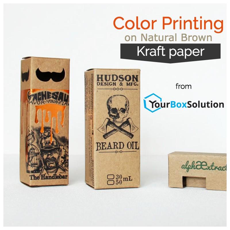Printing on Kraft