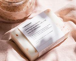 White soap packaging sleeves
