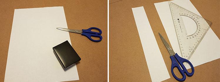 How to measure a box sleeve - step 1
