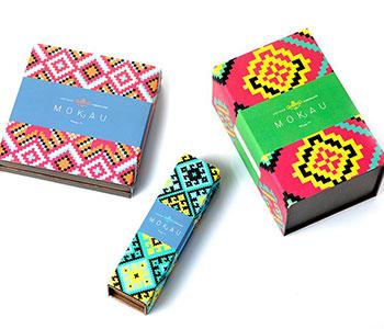 Chocolate box packaging sleeve