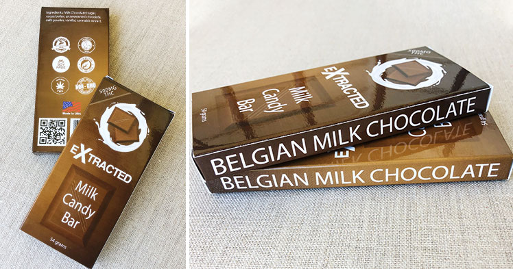 Belgian milk chocolate box