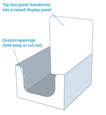 Counter display box