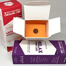 Box inserts cosmetics cbd oil