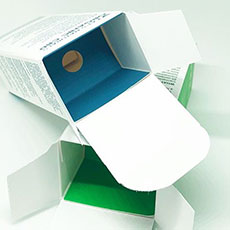 Box inserts cosmetics