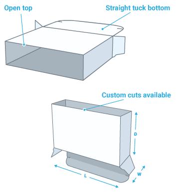 Holster box or half box