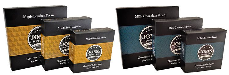 Two-piece chocolate boxes