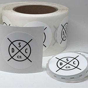 Keg caps labels
