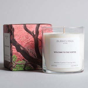 Custom candle box and labels