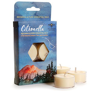 Cutout for candle packaging