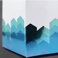 Metallized paperboard
