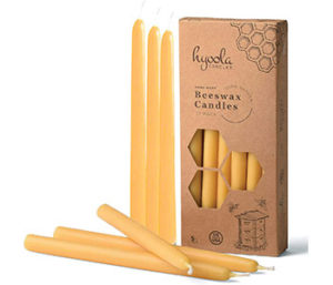 Taper candles packaging