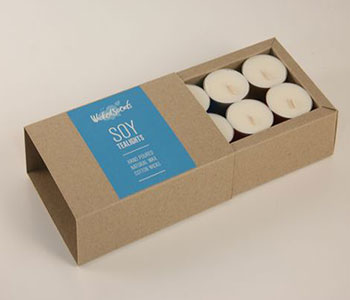 Tealight candle packaging