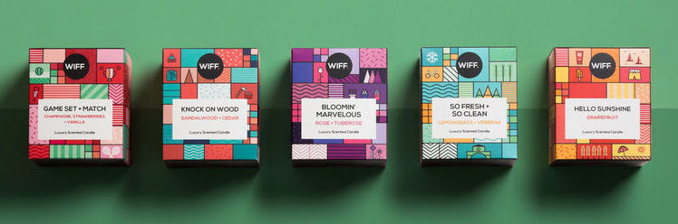 Multiple versions candle packaging