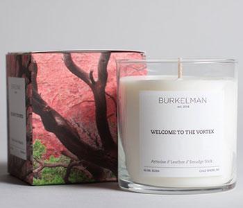 Candle label Burkelman