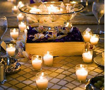 bridal-dinner-candles