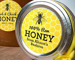 honey-lid-label