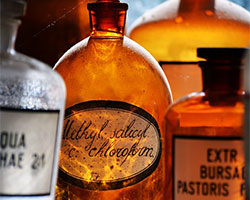 amber-apothecary-bottles