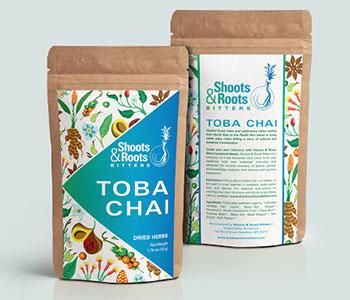 tea-labels-on-Kraft-pouches
