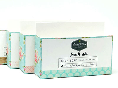 Elegant Or Luxurious Soap Boxes With Foil