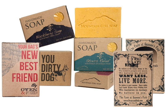 Kraft Soap Boxes Presentation
